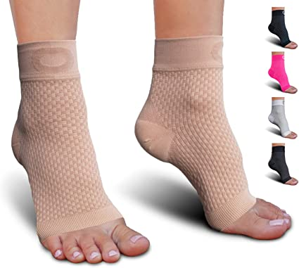 Compression Ankle Sleeves Ankle Brace Support for Men and Women Available in Sizes S,M,L,XL Our Ankle Socks for Women Help with Foot /& Arch Pain and Soreness ONE Pair