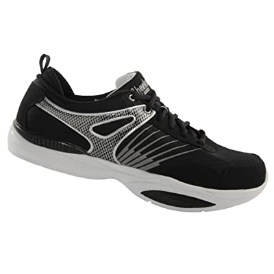CHEEKS Easy Shapers Trainers 3.0 by Tony Little, Fitness Sneakers with an Incline Walking Technology, EVA Resistance Wedge and Gel Heel Pad: Shoes
