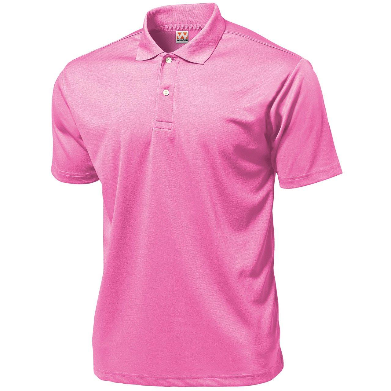 ?Pink 59 Wundou Boys Sports Dry Light Polo-Shirts P335?150CM