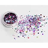 Mixed Chunky Face Eye Body Glitter Festival Clubbing Dance (Mermaid)