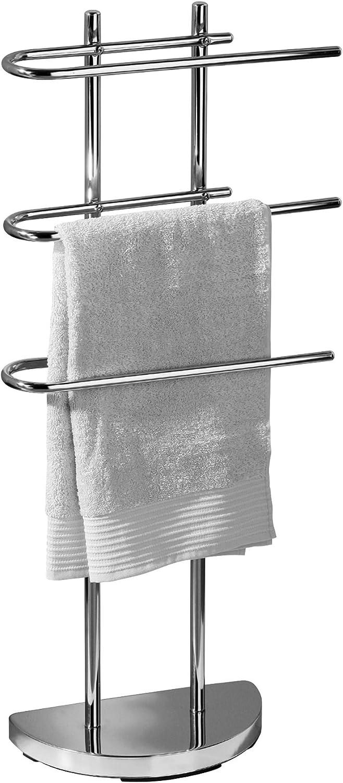 Premier Housewares Towel Rails Towel Holder Free Standing Towel Stand Towel Drying Rack Towel Rack Towel Holder Stands 94 x 41 x 18 cm