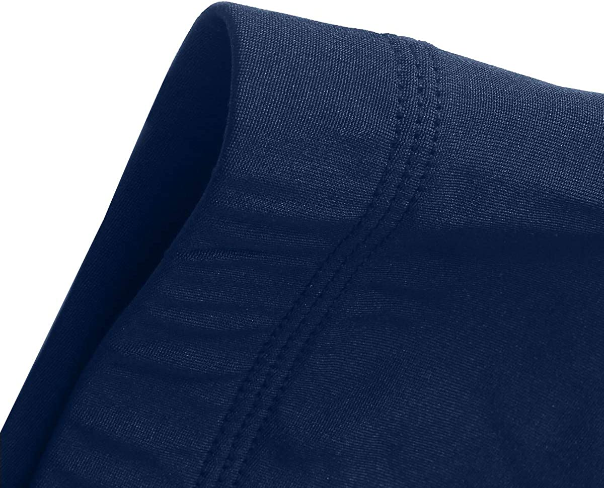 HEROBIKER Kids Ultra Soft Lined Thermal Underwear Boys Long Johns Top Bottom Set 2pcs Winter Skiing Warm