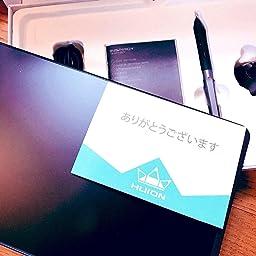 Amazon Huionペンタブ H950p 携帯接続可 傾き検知機能付き 8192レベル筆圧感知 充電不要ペン 8つのエキスプレスキー 超薄型 ペンタブレット Osu用 Huion ペンタブレット 通販