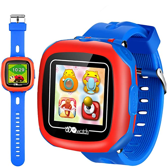 Kids Smart Watches With Games 15 Touch Children Tracker Pedometer Step Count Wristwatch Digital Timer Alarm Stop Sports Clock Health Monitor