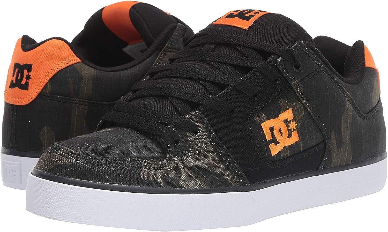 Chaussures De Formateurs pour Hommes DC Pure Se Camo Orange