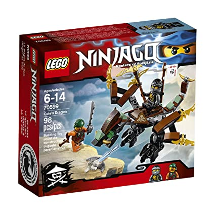 Amazon.com: Dragón Ninjago Cole 70599 de LEGO: Toys ...