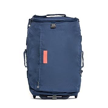 00e3beda642 ECO Maleta Plegable con ruedas convertible a mochila hecha de material  reciclado RPET (Azul Oscuro)  Amazon.es  Equipaje