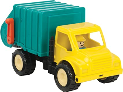 Amazon.com: Battat Garbage Truck (Various Colors): Toys & Games
