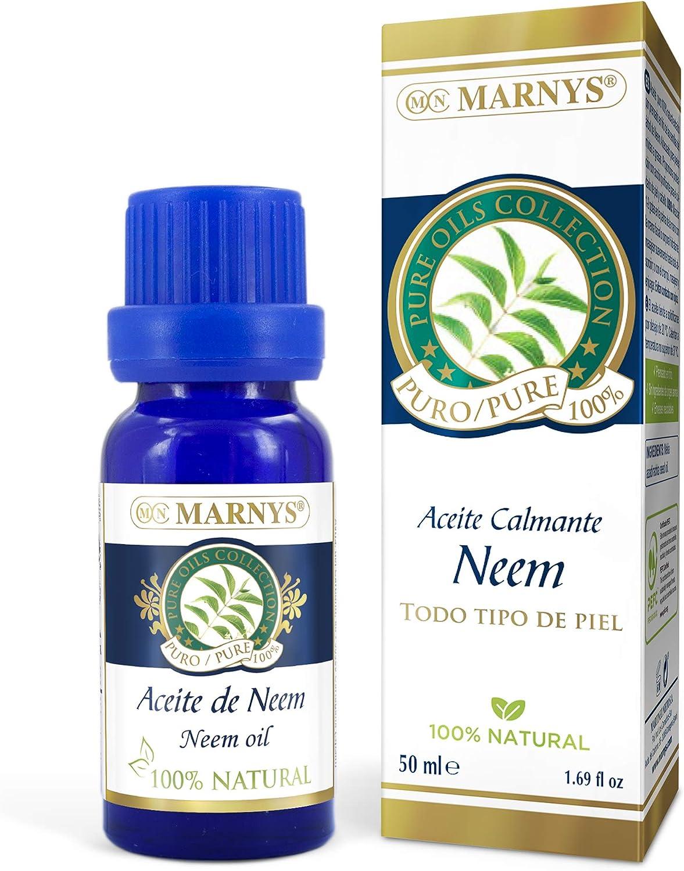 MARNYS Aceite Puro de Neem 100% Natural 15ml