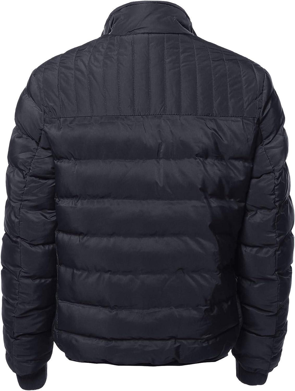 Youstar Mens Casual Zip Up Outdoor Waterproof Winter Parka Long Sleeves Jacket