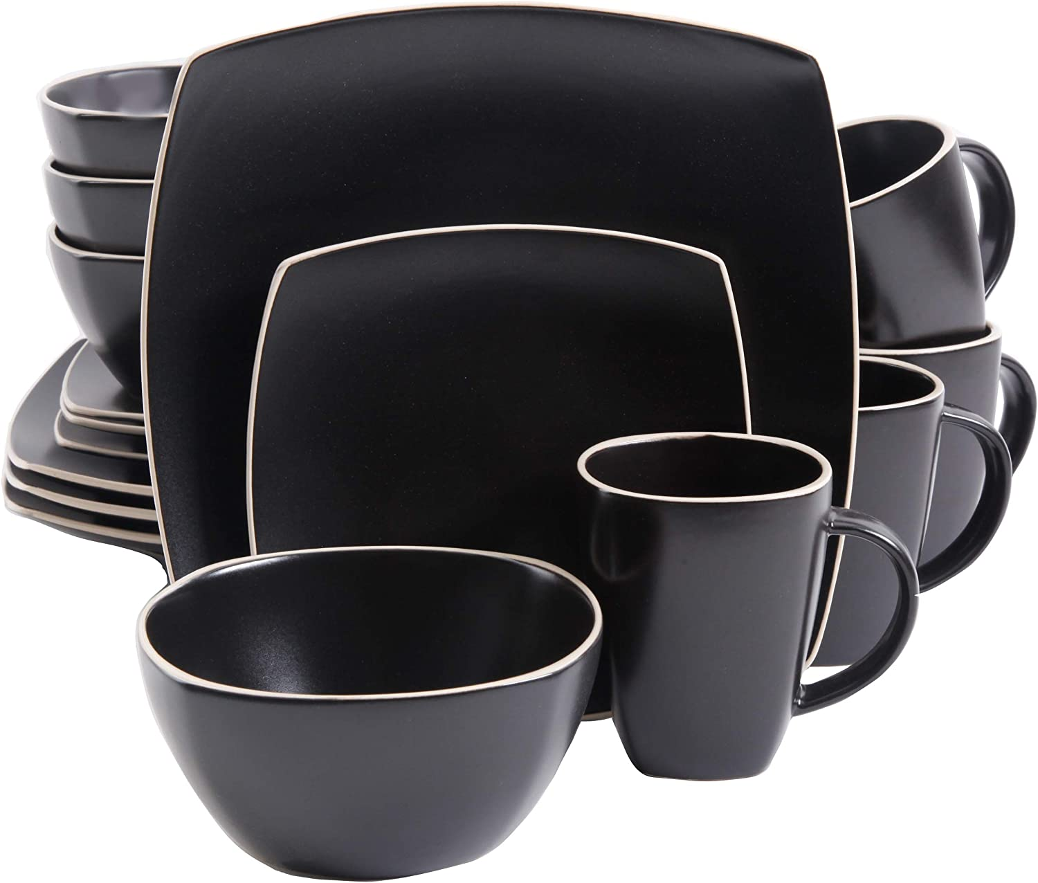 Gibson 16-Piece Dinnerware Set