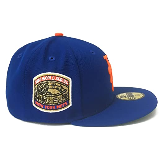 39d8e5f4ce0 New York Mets 1969 World Series Champs Commemorative 59Fifty Authentic  Fitted Baseball Cap (IJ Exclusive)