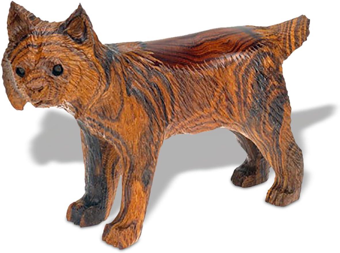6-7in Long Bobcat Ironwood Art Carving - Southwestern Decor
