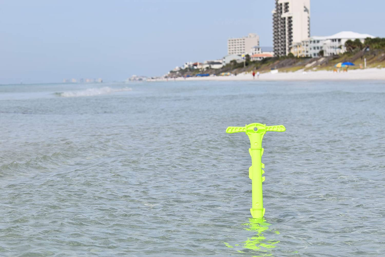 "SandShark Boat or Pontoon Shallow Water Sand Anchor 39/"" w//Case"