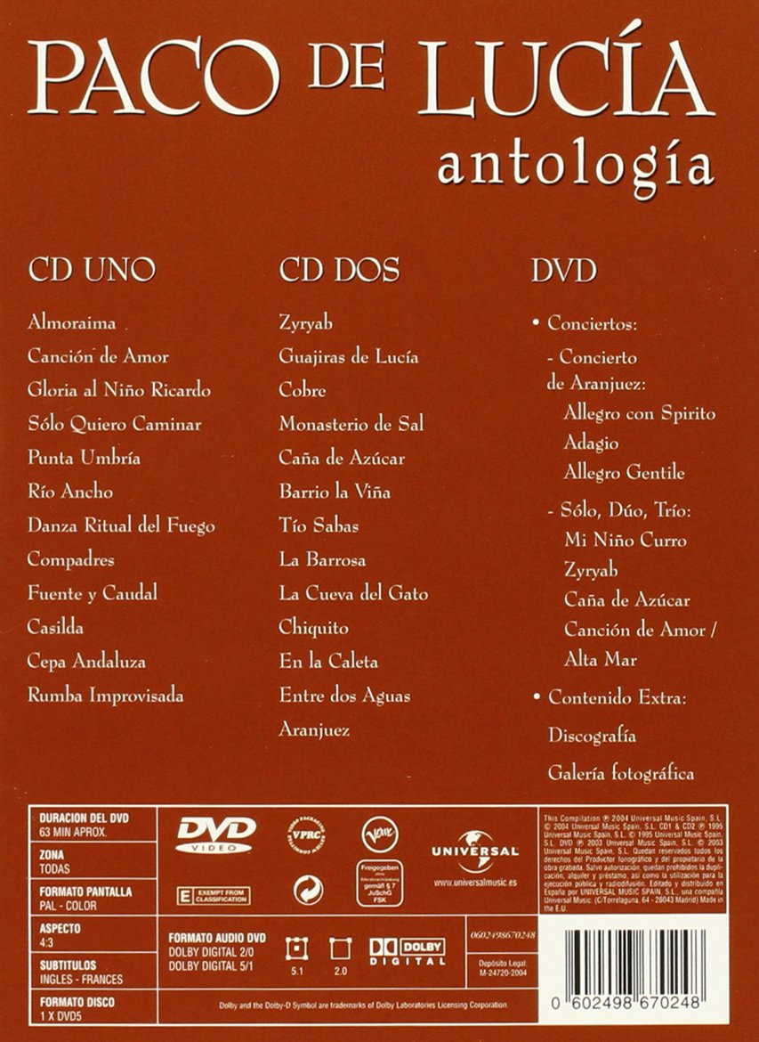 Antologia by UNIVERSAL INT. MUSIC