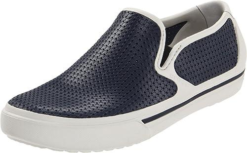 Crocs Crosmesh Summer, Mocassins hombre, Blanco (Blanc cassé-TR-B3-19), 43: Amazon.es: Zapatos y complementos