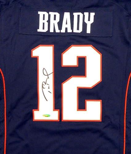 signed tom brady nfl jersey