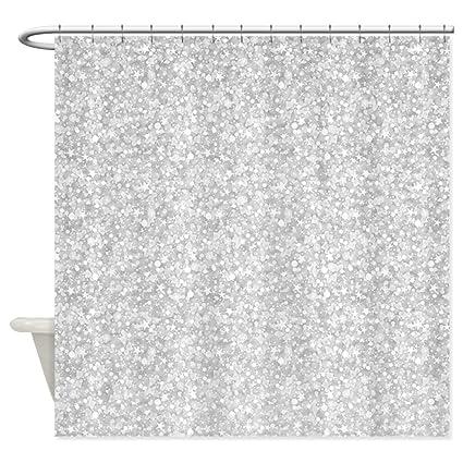 Amazon Com Cafepress Silver Gray Glitter Sparkles Shower