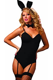 10ca4db5b9a2 Amazon.com  Musotica Sexy Playboy Bunny Halloween Costume  Clothing