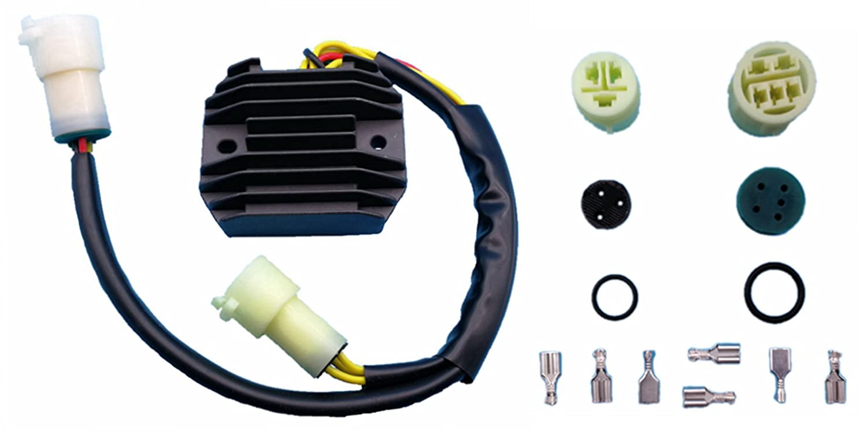 New Voltage Regulator Rectifier 12V for 636cc Kawasaki ZX-6R Ninja ZX636 03 04 Auto Parts & Accessories