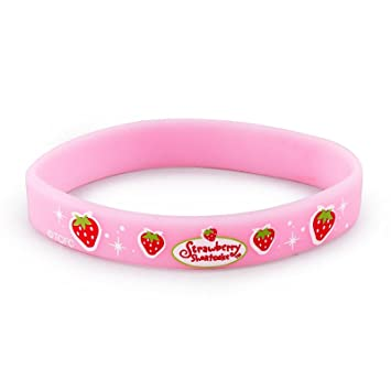 com wristbands strawberry amazon dp favors bracelet shortcake bracelets