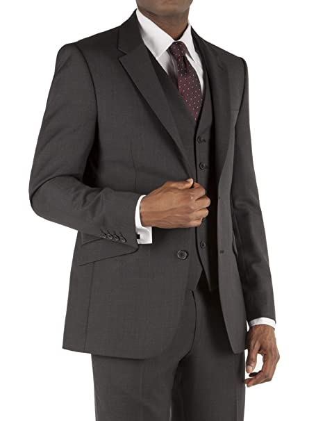 Suit Direct Tom Inglés carbón Pick & Pick chaqueta de corte – te1201341 único breasted corte