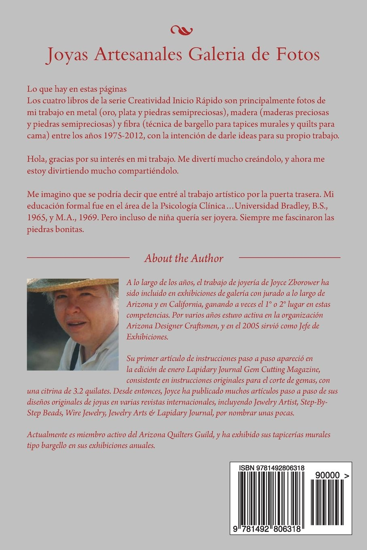Joyas Artesanales Galeria de Fotos: Joyas fundidas - Joyas forjadas (Serie Creatividad Inicio Rápido) (Spanish Edition): Joyce Zborower M.A., ...