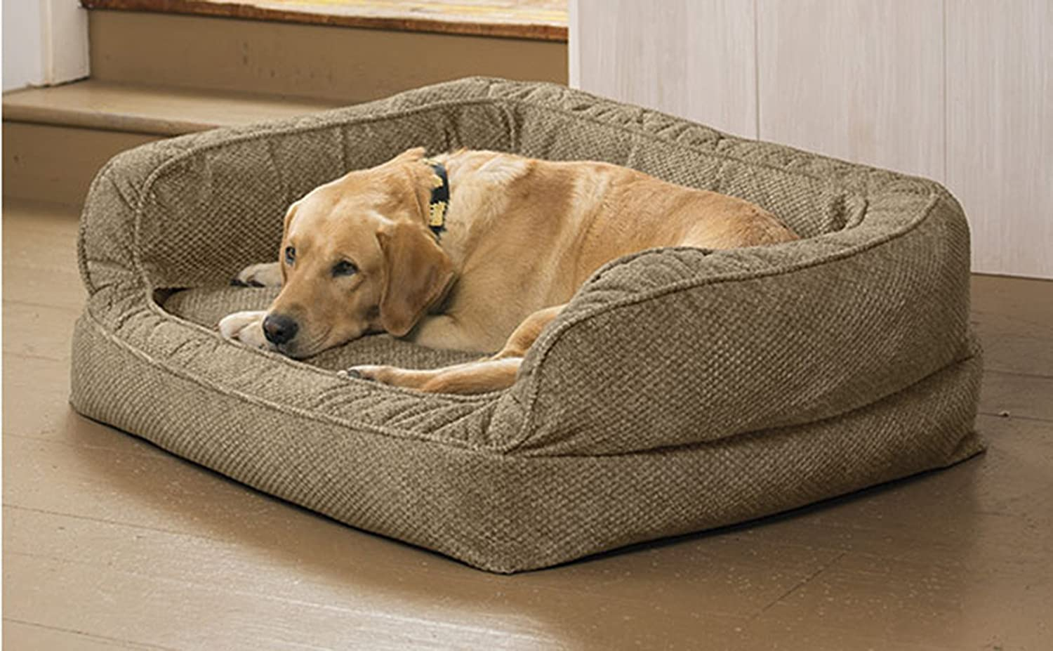 80 Off Orvis Deep Dish Couch Dog Bed With Memory Foam Medium Dogs Up To 40 60 Lbs Brown