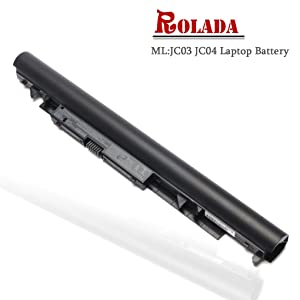 JC03 JC04 Laptop Battery Replacement for Replacement for HP 255 G6 250 G6 Pavilion 15-BS000 15- BW000 17-BS000 17z Series 919700-850 919701-850 919681-421 HSTNN-DB8E HSTNN-H7BX HSTNN-L67N HSTNN-PB6Y
