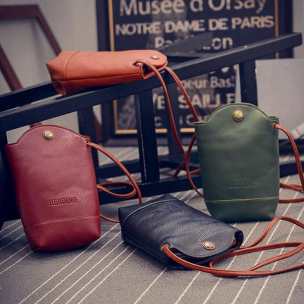 Clearance Deals Women Handbag Shoulder Bag, TOOPOOT Lady Small Body Bags Tote Shoulder Messenger Bag (Black) by TOOPOOT (Image #4)