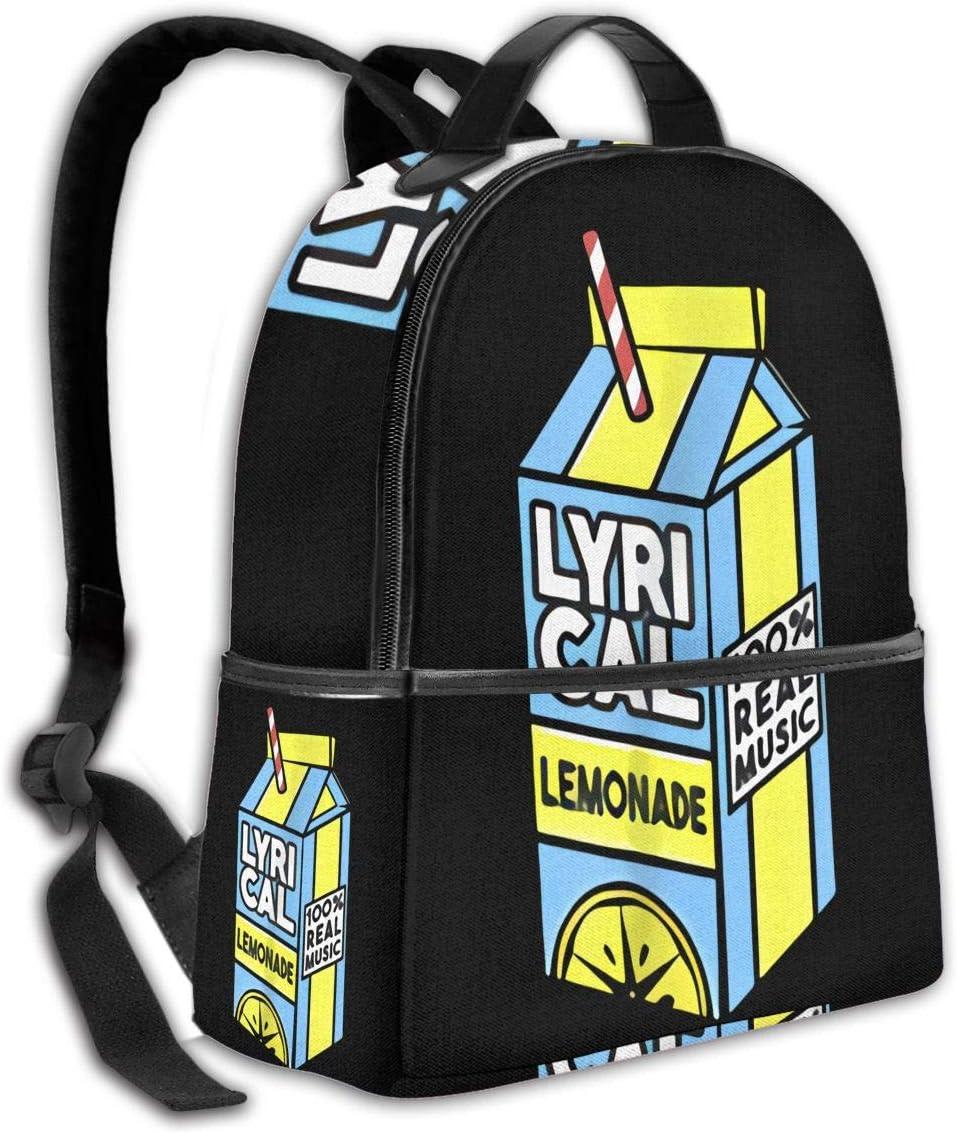 Lyrical Lemonade Laptop Backpack Fashion Theme School Backpack
