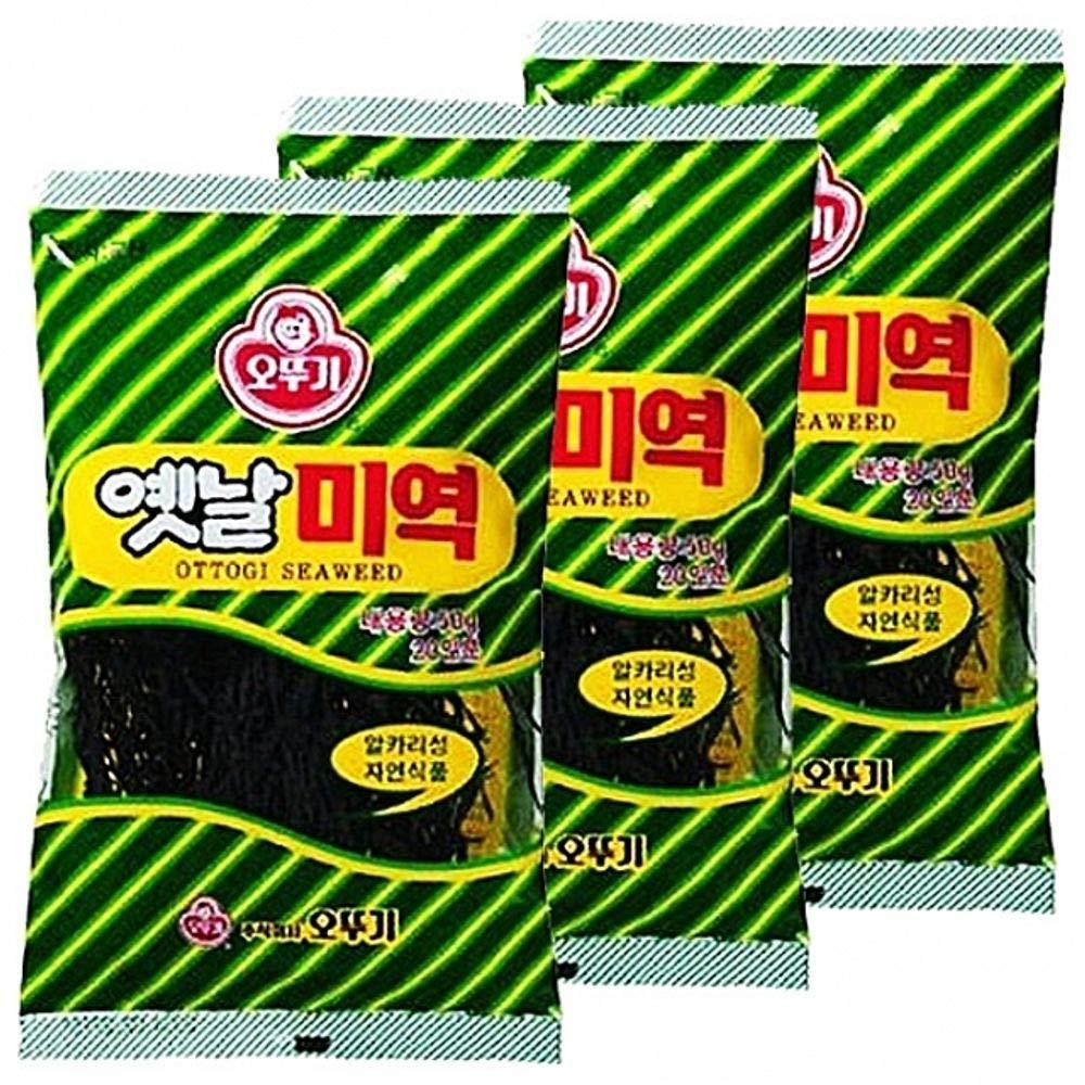Ottogi Dried Seaweed 50g x 15 count 오뚜기 미역 by Ottogi (Image #1)