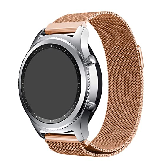 Amazon.com: EAGWELL 20mm Milanese Loop Stainless Steel Metal ...