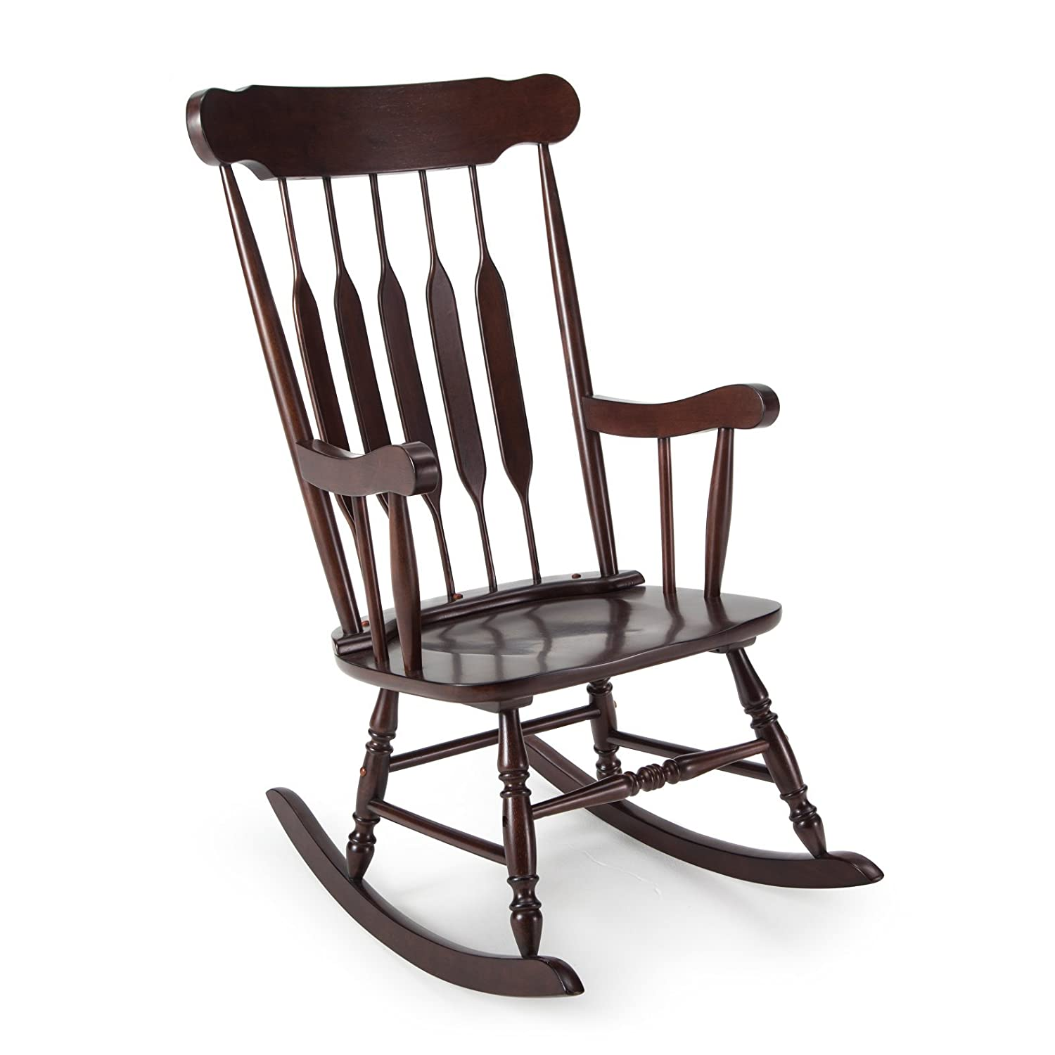 Amazon.com: Belham Living Wood Nursery Rocker   Espresso: Kitchen U0026 Dining