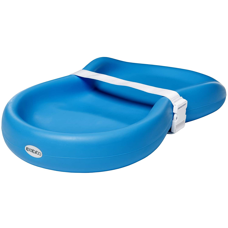 Keekaroo Peanut Diaper Changer, Solid Aqua 0130004KR-0001