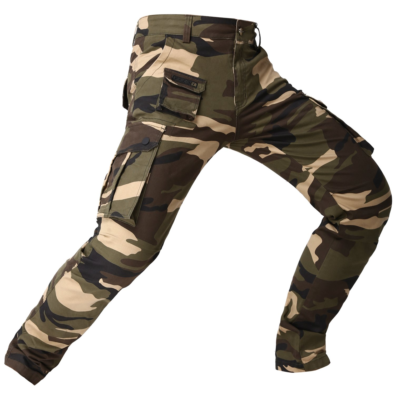 948de5ae0ab8 Oray168 Mens Cotton Loose Casual Military Army Cargo Pants Camo ...