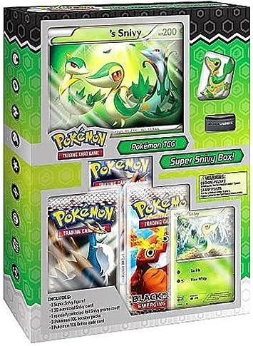Pokemon Negro y Blanco Súper Caja Carácter Snivy (Inglés Language).: Amazon.es: Juguetes y juegos
