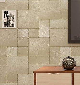 H&M Características imitación textura de la piel papel tapiz 3D decoración de papel tapiz sala de