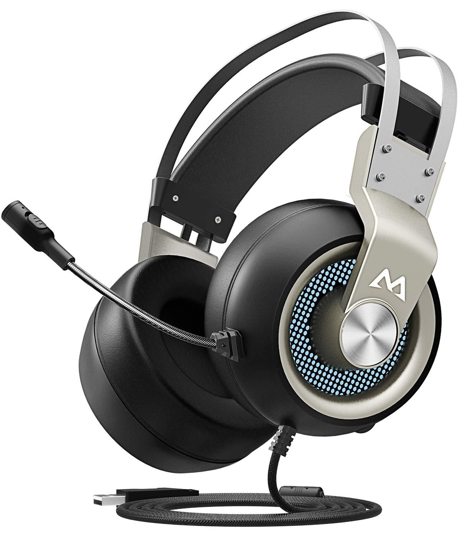 Amazon.com: Mpow EG3 Gaming Headset, 7.1 Surround Sound Gaming ...