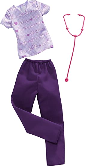 Barbie Career Fashion Pack Golfing Outfit,Girl Power Top Skirt.Lot of 2.