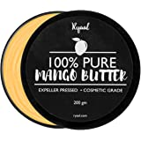 Ryaal Organic Mango Butter for Dry Skin and Hair Care (200g)