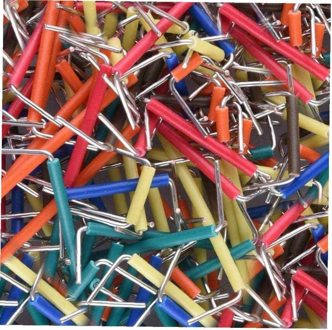 OMMO LEBEINDR Los Cables de Tablero de Puente en Forma de U Kit de Macho a Macho Cable sin Soldadura Clolrful con Caja de Almacenamiento 560PCSGood ayudante de Industria