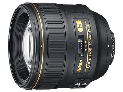 Nikon AF-S NIKKOR 85 mm f/1.4G teleobjetivo Medio Profesional ...