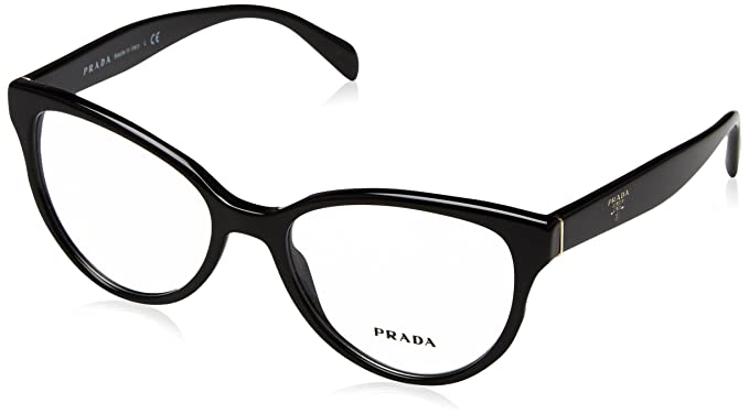 856eb51fe5 Prada Women s PR 01UV Eyeglasses 52mm at Amazon Women s Clothing store