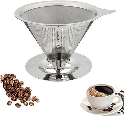 Filtro Coador Café Reutilizável Inox Casa Ultrafino Grande