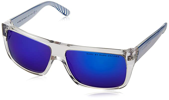 e4fb163387ec Marc by Marc Jacobs 250607W7B57Z0 MMJ 096-N-S W7B Z0 Translucent Crystal  Blue Sunglasses