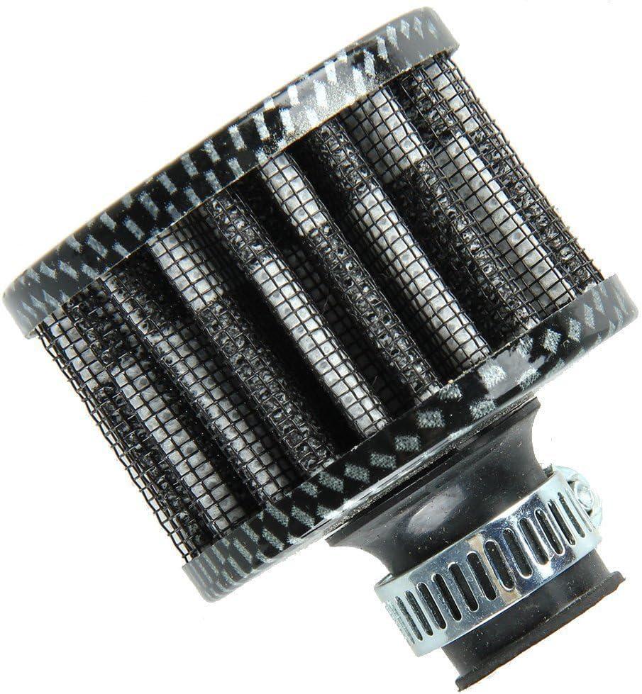 Mintice 4 X 38 millimetri Mini Cono Motore dellautomobile Universale Fredda Presa dAria Filtro Turbo Pulita sfogare Veicolo