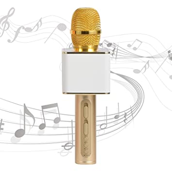 Bluetooth Microphone Handheld Portable Wireless Karaoke microphone