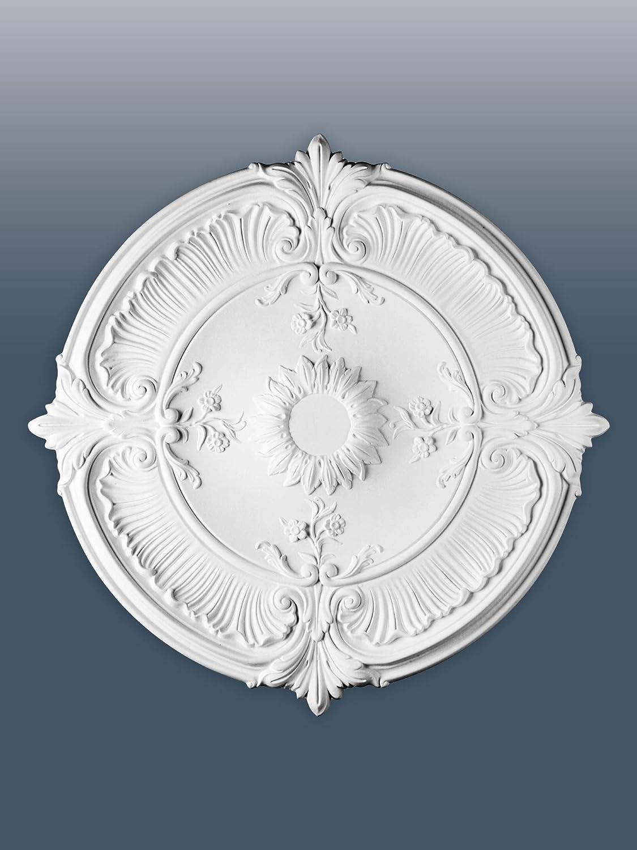 ORAC R73 Ceiling Rose Rosette Medallion Centre high quality polyurethane classic decor white | 70 cm = 27 inch diameter Orac Decor