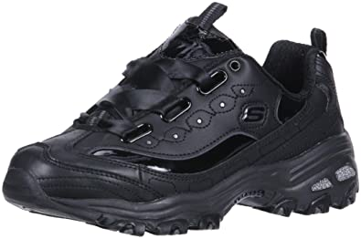 552ef9112d8a Skechers Women s D Lites-Latest Trend Sneaker Black ...